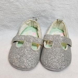 🍋 Child of Mine by Carter's | Sparkle Crib Shoes